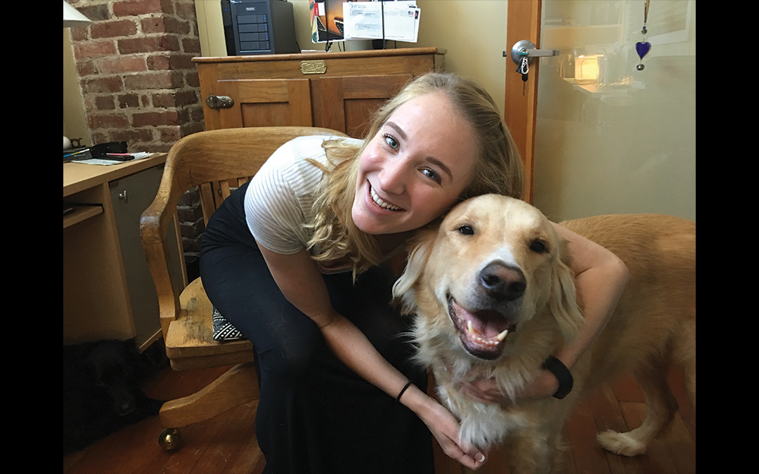 Welcome Allen Harris Design's New Intern