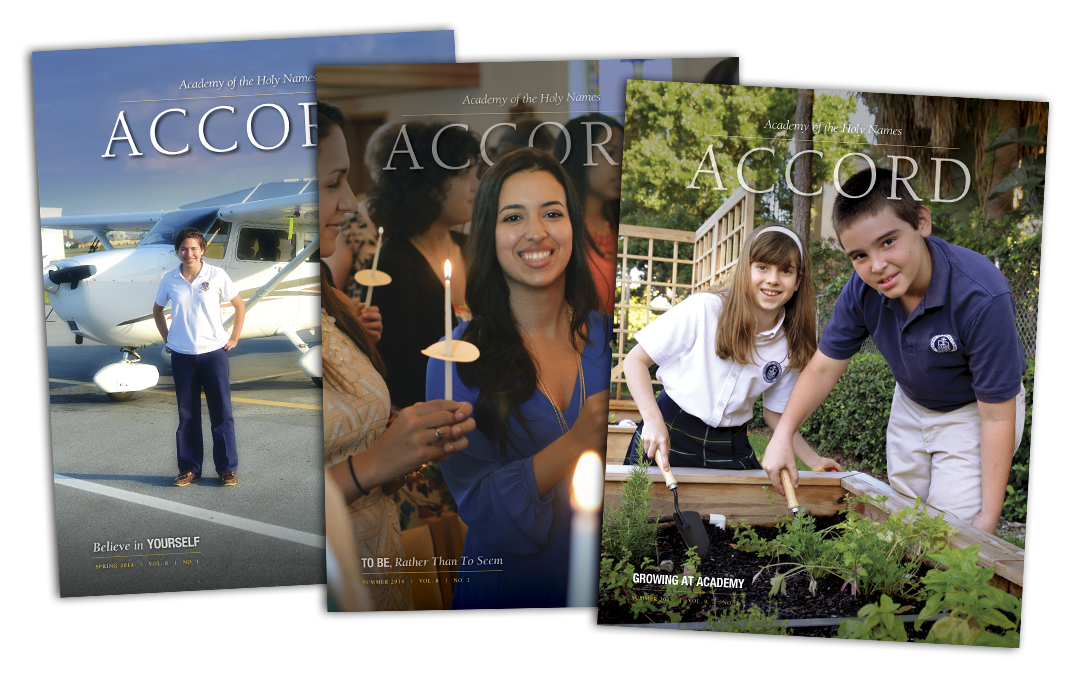Academy of the Holy Names Accord magazine