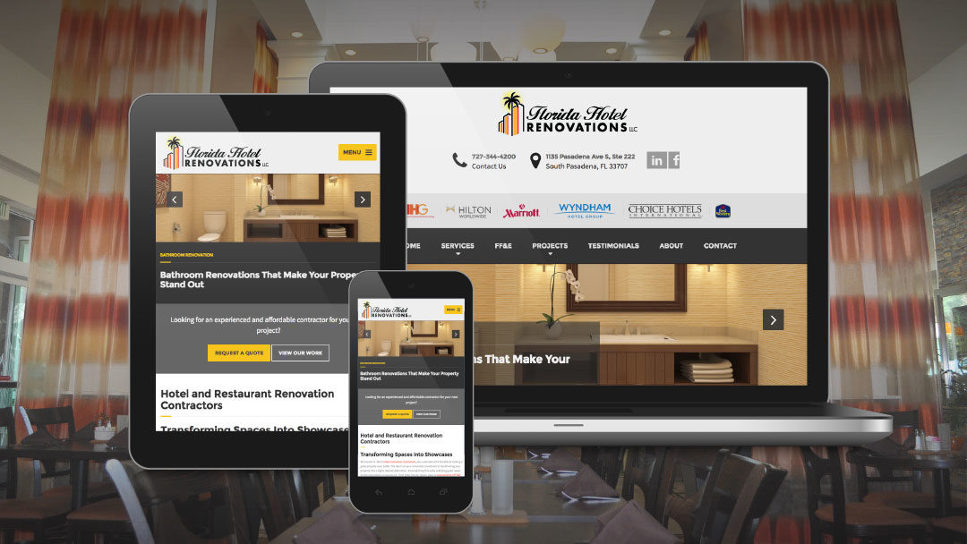 Florida Hotel Renovations New Website Launches