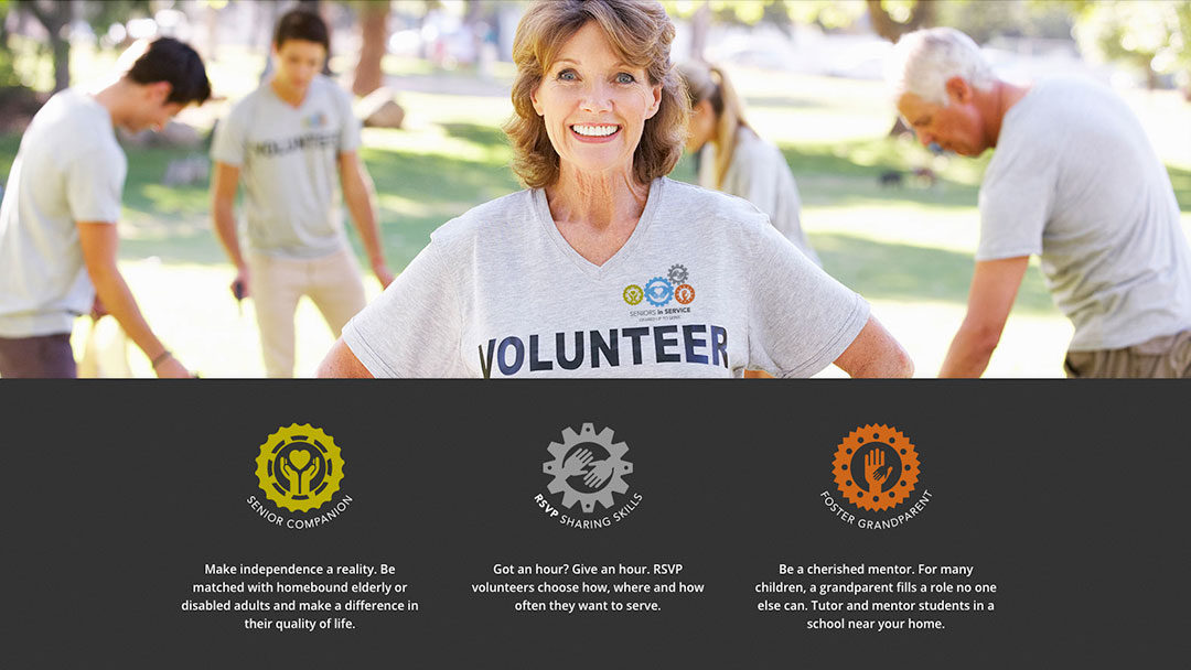 Seniors in Service Website Launches