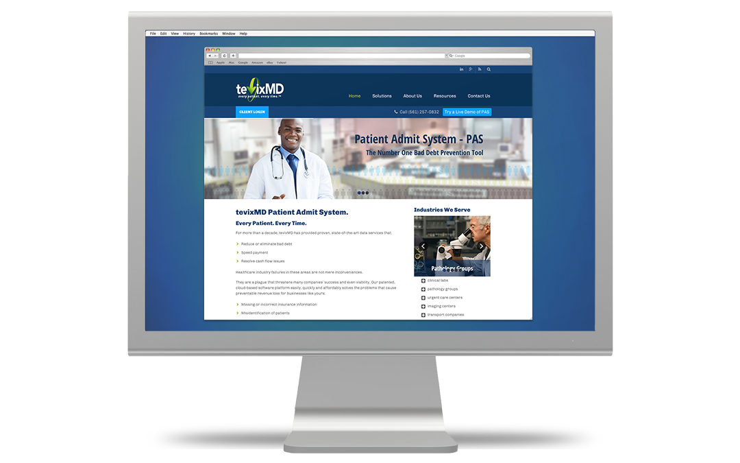 tevixmd-website
