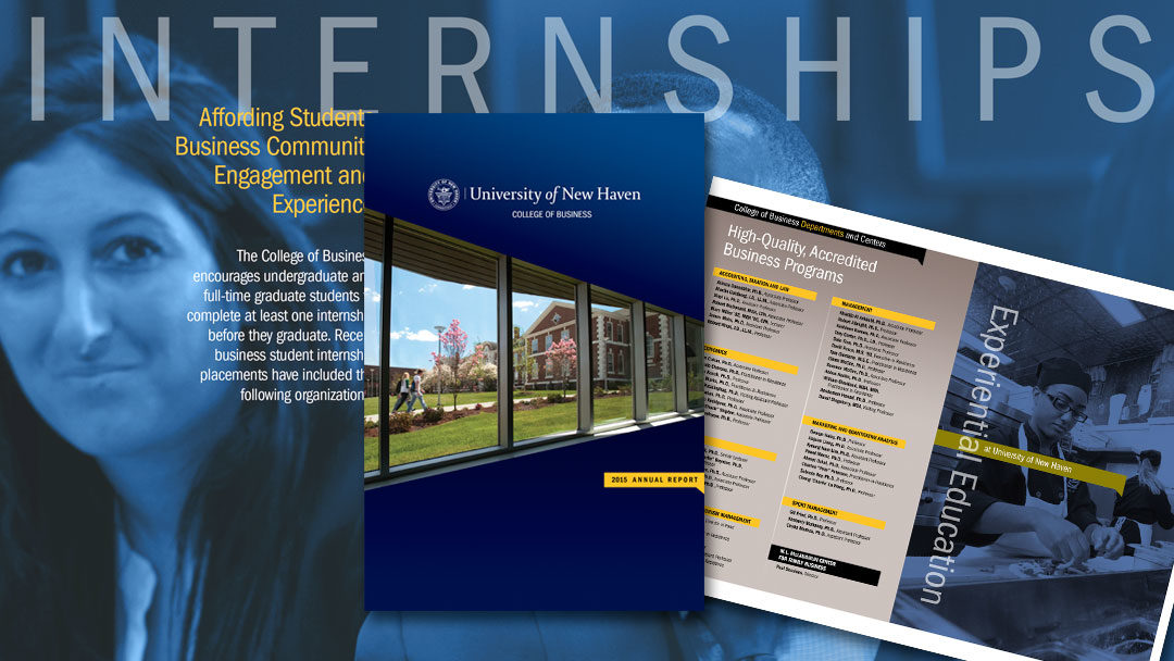 University of New Haven College of Business Annual Report
