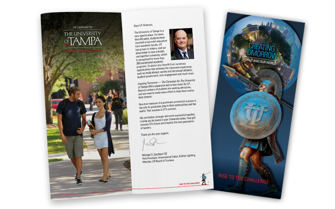University of Tampa Fundraising Solicitation Materials
