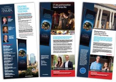 University of Tampa Advertisement Series for Capital Campaign