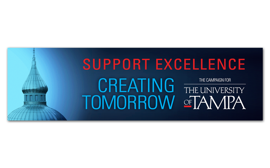 University of Tampa Electronic Outdoor Billboard for the Capital Campaign