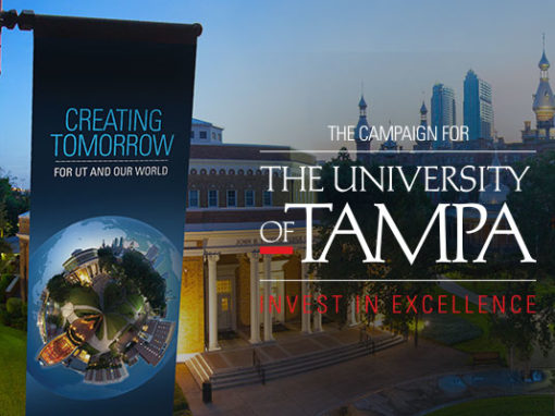 Capital Campaign Branding for The University of Tampa