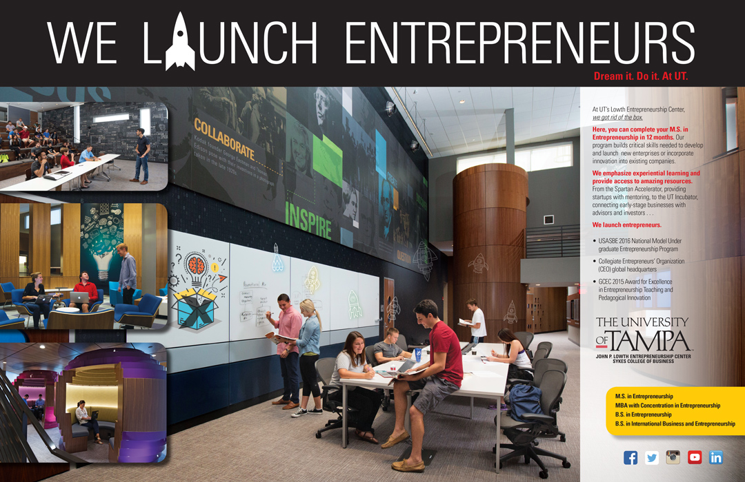UT Launches Entrepreneurs Advertisement