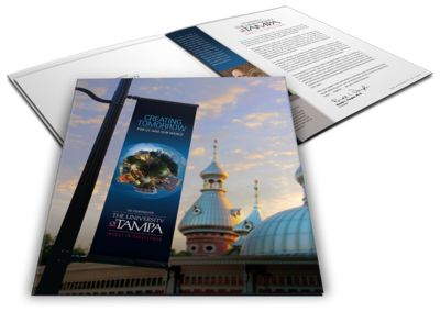 University of Tampa Capital Campaign Pocket Folder Brochure